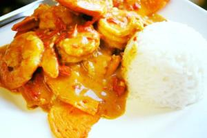 Curry Shrimp