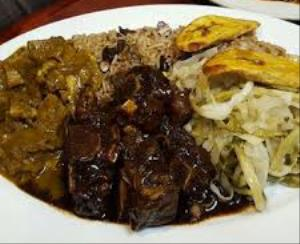 Oxtails with Curry Goat